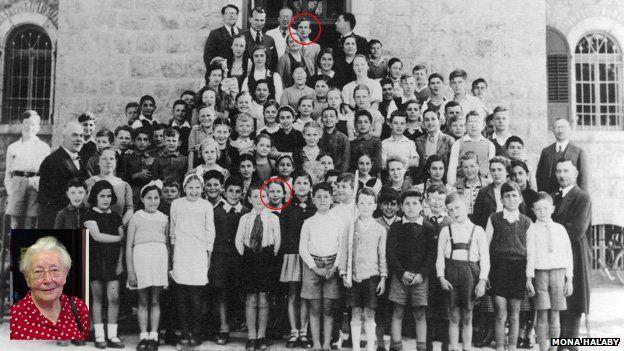 Templer school in German Colony, Jerusalem, 1938