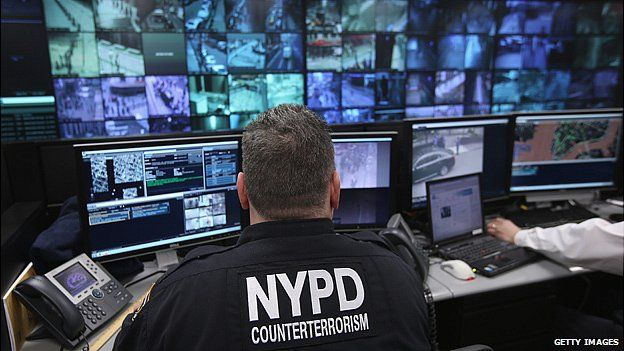 CCTV monitoring in New York City