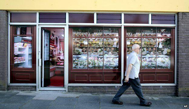 Fake butchers shop