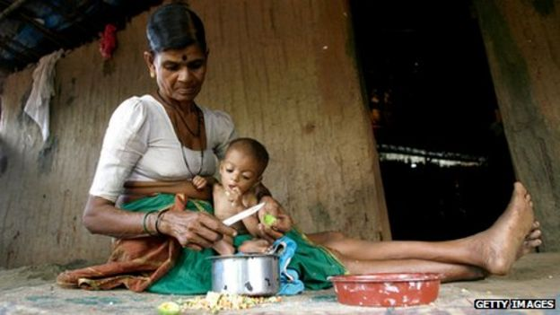 31be9d9cb74a Does a child die of hunger every 10 seconds  - BBC News