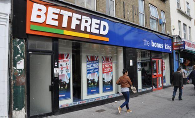 Betting shop newspaper