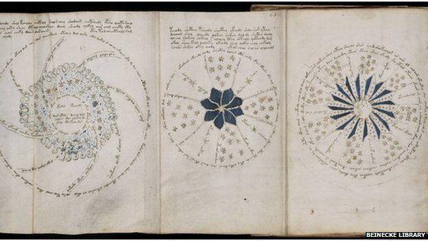 Book voynich manuscript