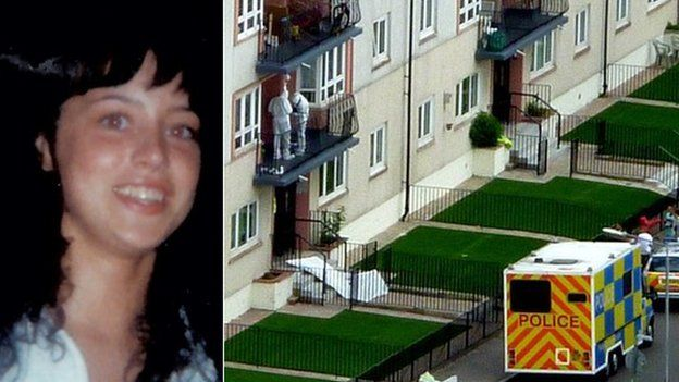 Lorraine Foy and crime scene