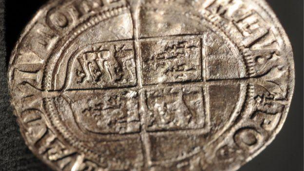 Elizabeth I coin