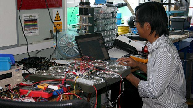 Working on the technology behind the energy harvesting floor tiles