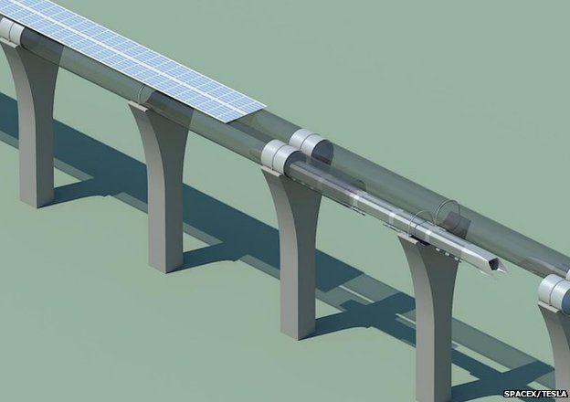Tube pylons