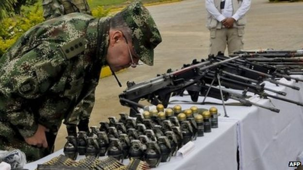 Image result for farc weapons