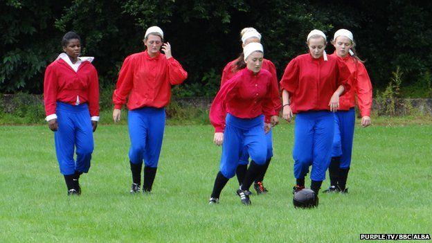 Re-enacting British Ladies Team