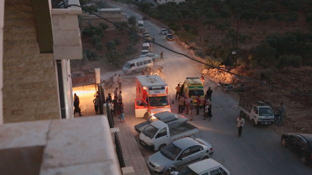 Aleppo field hospital