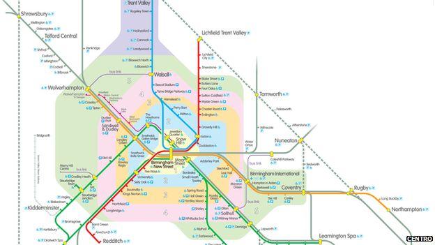 centro rail route map