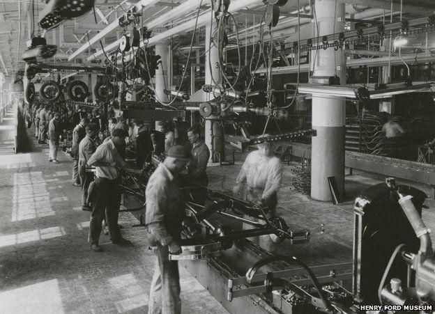 Assembly line 1930