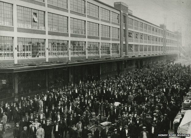 $5 day in 1914
