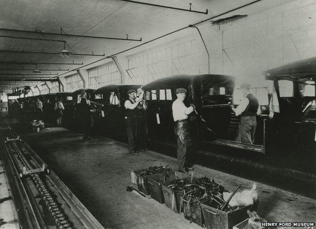 Assembly line 1914