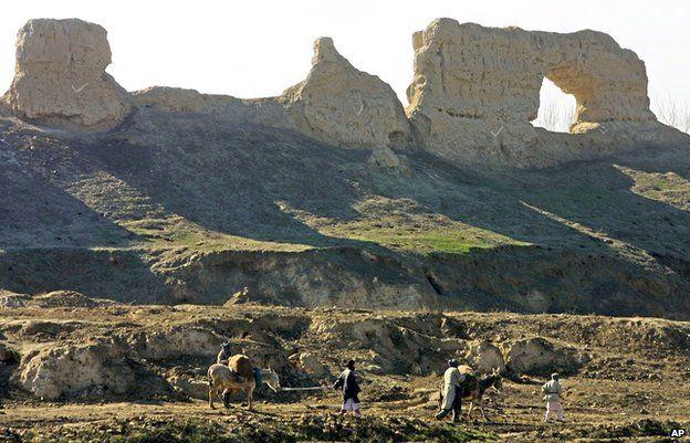 Ruins near Balkh