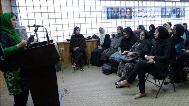 The Mirman Baheer literary society in Kabul
