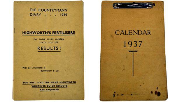 Countrymen's diary and Calendar 1937