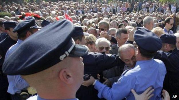 May 1980 funeral in belgrade