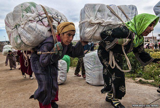 Women carrying loads
