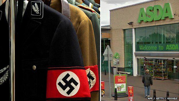 Nazi uniform / Cambridge Asda