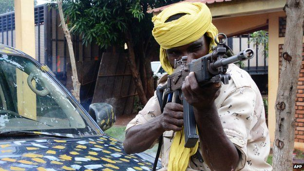 Seleka fighter (July 2013)
