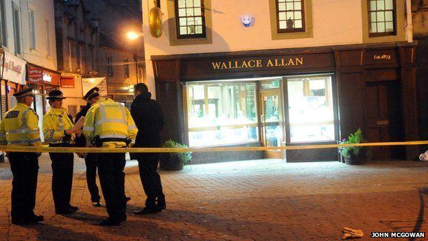 Burnt trousers' help catch failed Ayr jeweller robbers - BBC News