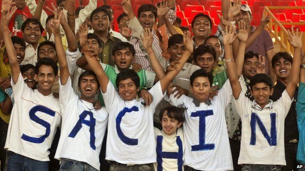 Tendulkar fans in India