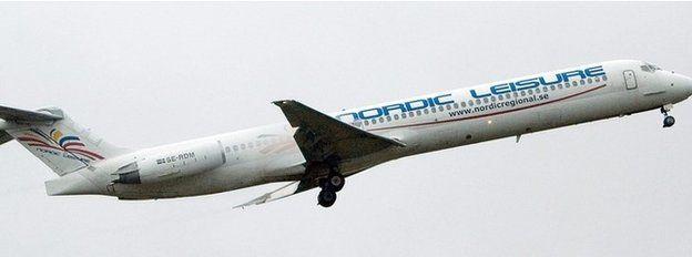 Nordic Airways plane