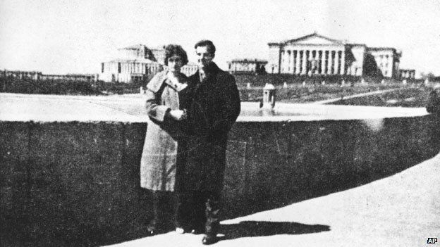Lee Harvey Oswald and his wife
