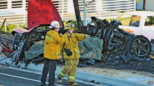 Fast & Furious actor Paul Walker dies in California car crash - BBC News
