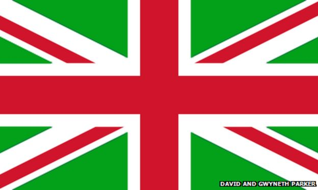 25 readers\' designs for a new union jack - BBC News
