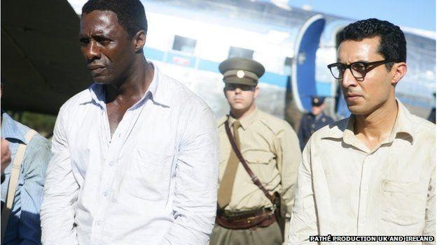 Idris Elba in Mandela : Long Walk to Freedom