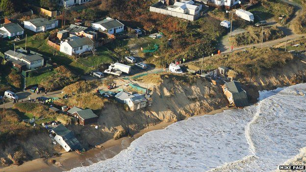 The coast at Hemsby