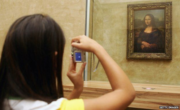 Photographing the Mona Lisa