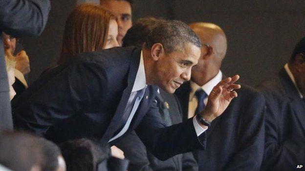 Barack Obama, 10 Dec