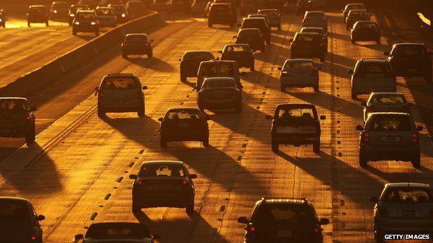 Los Angeles freeway