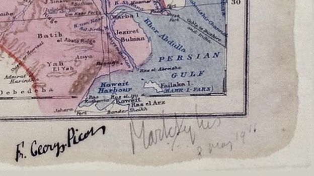 Why border lines drawn with a ruler in WW1 still rock the Middle ...
