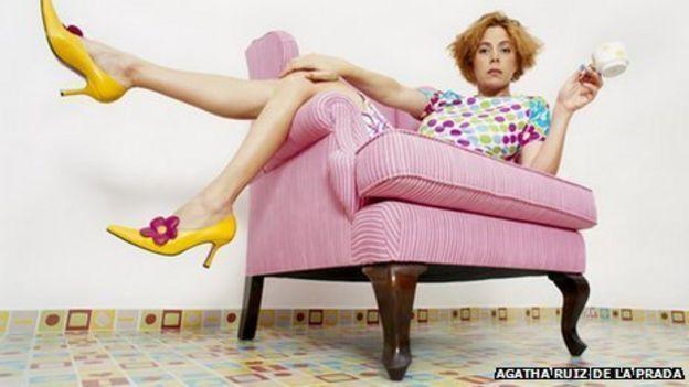 Agatha Ruiz de la Prada: My love of colour bred success - BBC News
