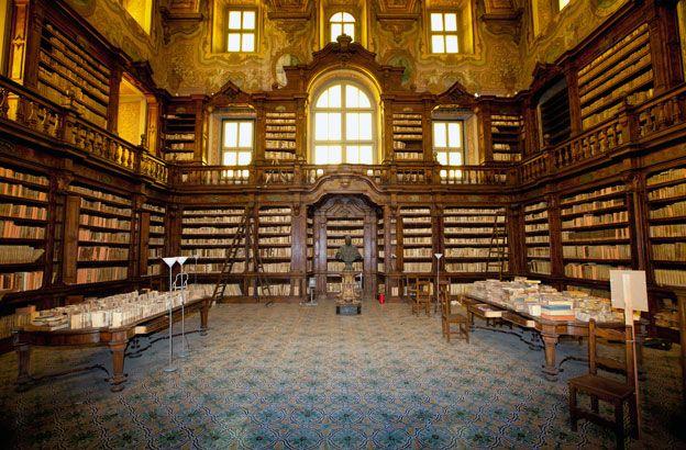 Girolamini library