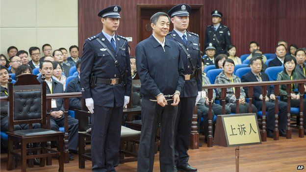 Bo Xilai in court (25 October 2013)
