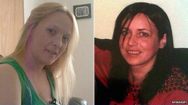 Tracy Meikle and Lorraine Foy