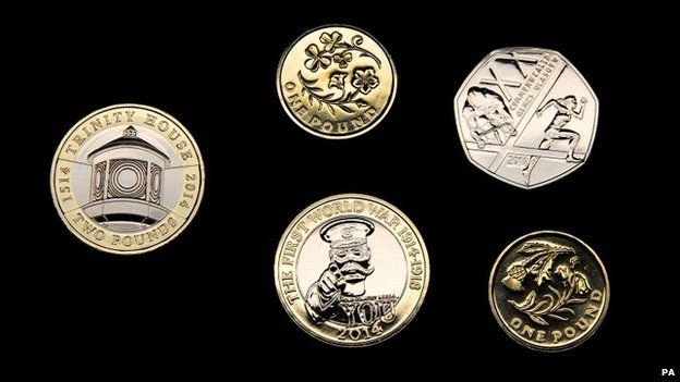 New Royal Mint coins