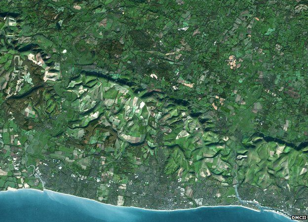 Sussex by satellite