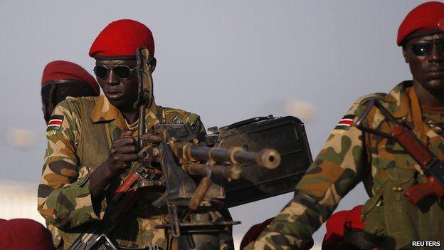 South Sudan Nyaba Tells Of Juba House Arrest Bbc News