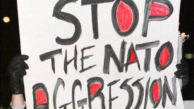 Anti-Nato protest