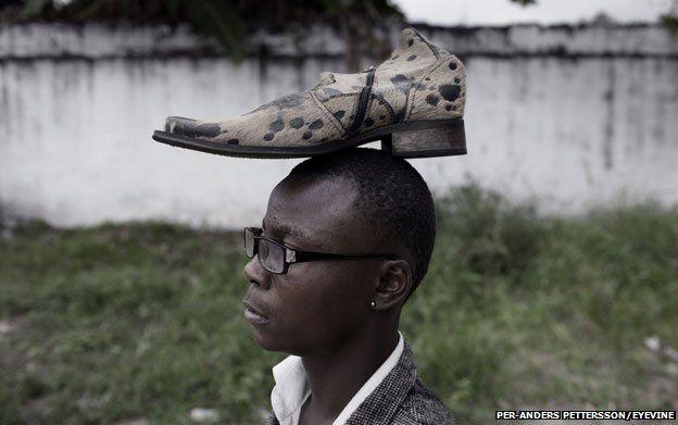 Sapeur in Kinshasa 2012