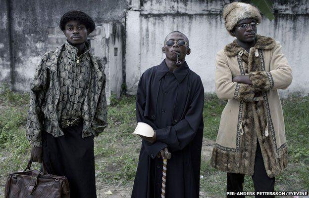 Sapeurs in Kinshasa 2012
