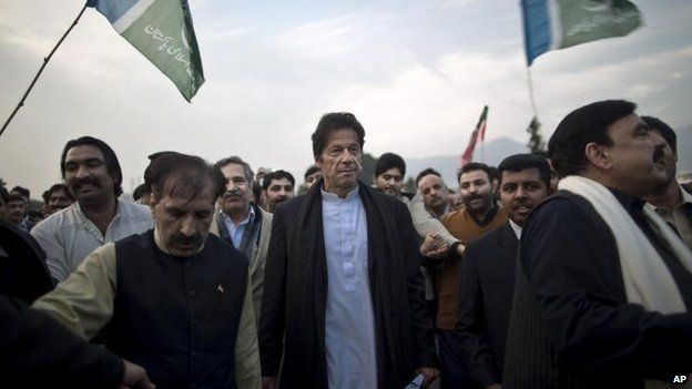 Imran Khan (C), Dec 2013
