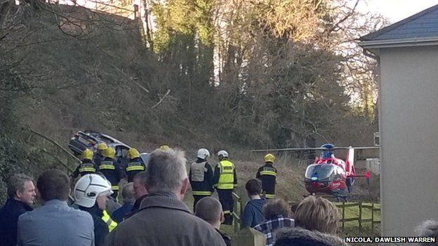 Dawlish accident, 2 February
