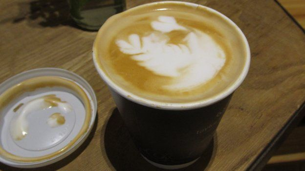 Coffee made with camel milk