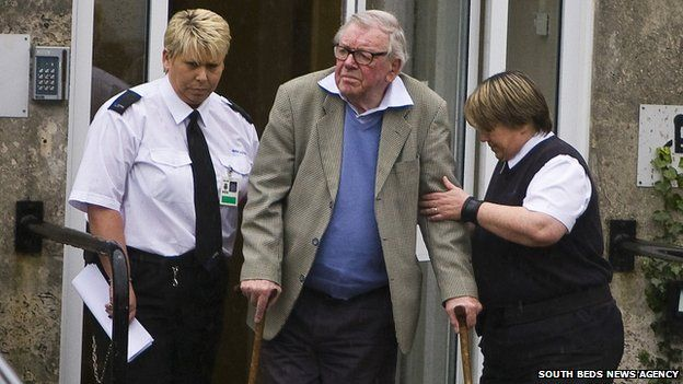 Roland Peter Wright is led away from court in Amersham